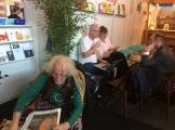Cafe-der-verlage-Buchmesse-Frankfurt-2017-Werner-Pieper-ron-engert-tattva
